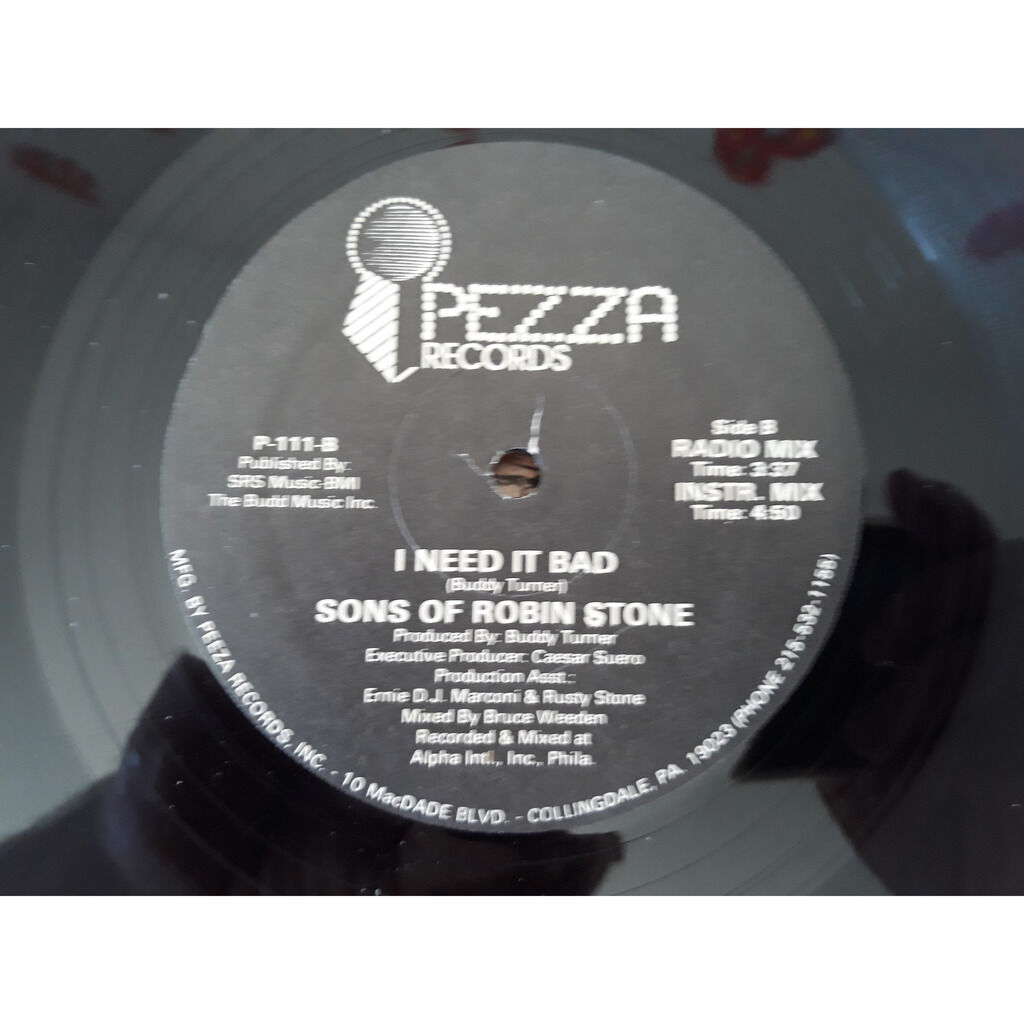 Sons Of Robin Stone - I Need It Bad (12) Sons Of Robin Stone - I Need It Bad (12)