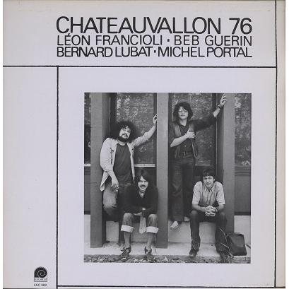 Lubat, Portal, Francioli, Guérin Chateauvallon 1976