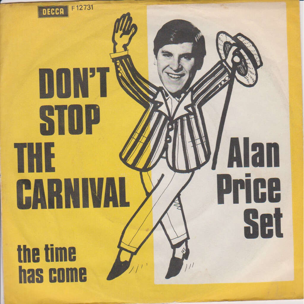 PRICE SET Alan DON'T STOP THE CARNIVAL / THE TIME HAS COME