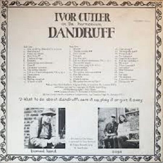 Ivor Cutler Dandruff