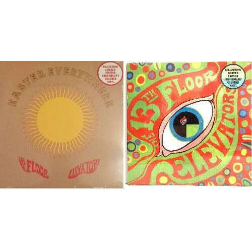 13th Floor Elevators Set of 2 Limited Edition Colored Vinyl - New Sealed