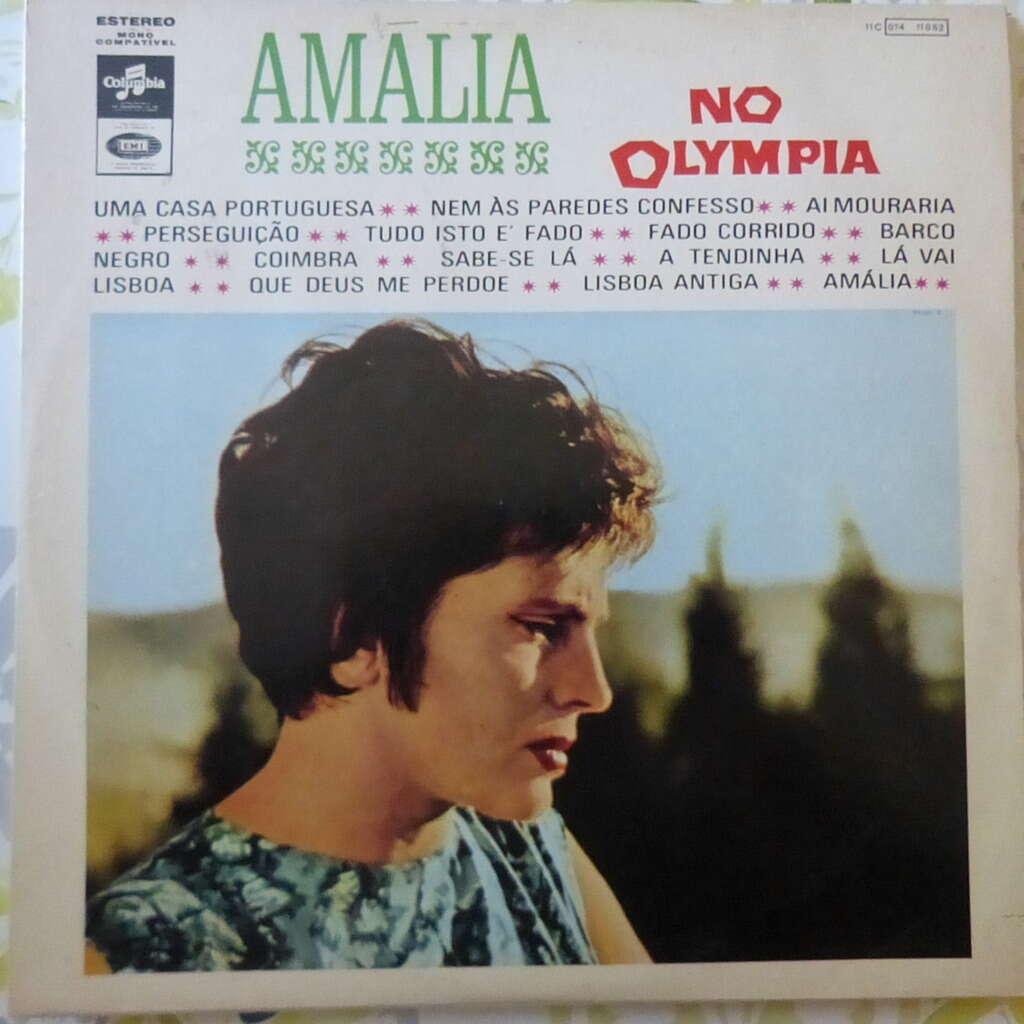 AMALIA RODRIGUES AMALIA NO OLYMPIA