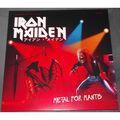 IRON MAIDEN - Metal For Mantis (lp) Ltd Edit Colored Vinyl -E.U - 33T