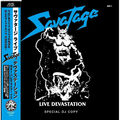 SAVATAGE - Live Devastation (lp) Ltd Edit Special Dj Copy & Blue Vinyl -Jap - 33T