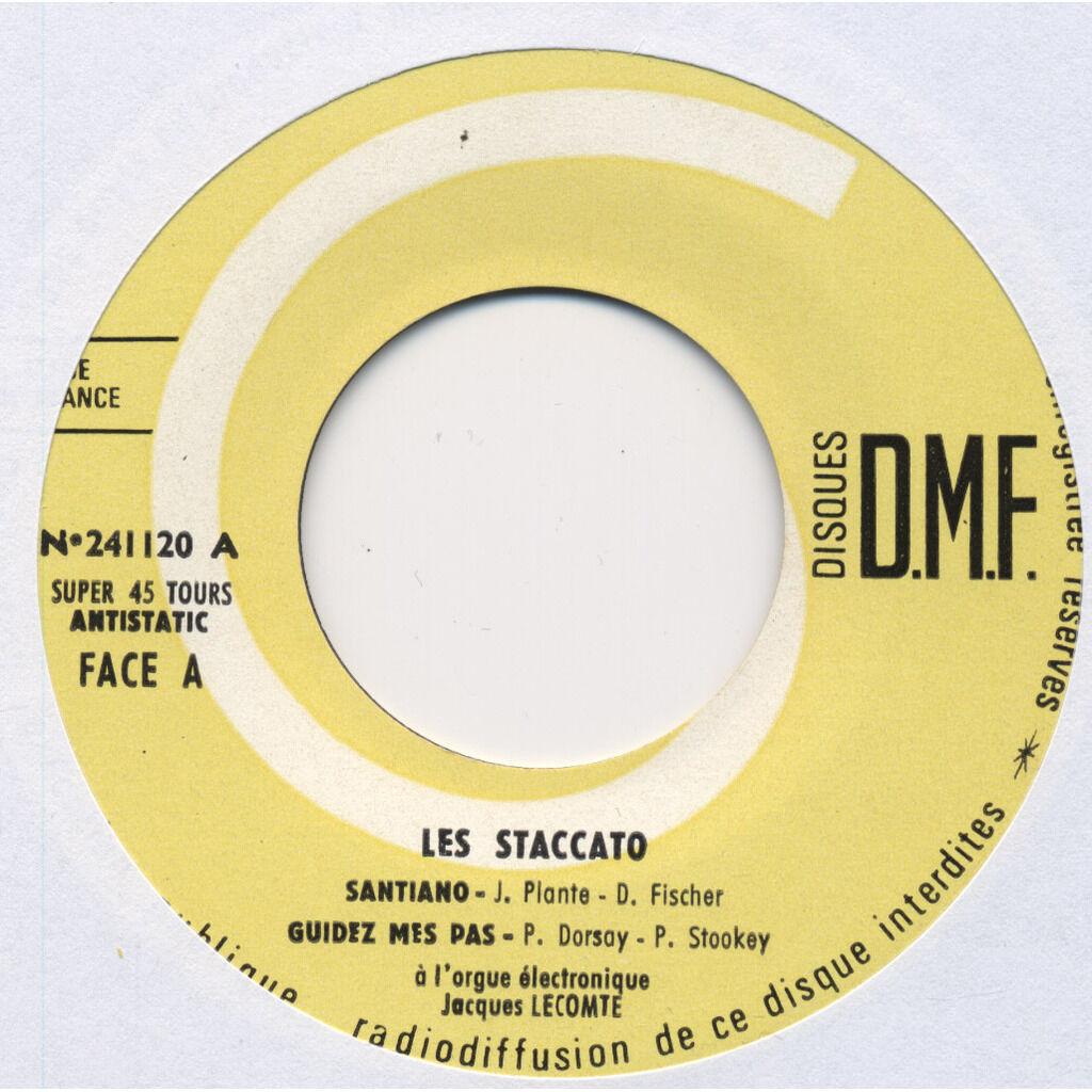 LES STACCATO + Jacques Lecomte (orgue électronique Santanio, Des que le printemps revient (Hugues Auffray), Guidez mes pas, Ou sont-elles passées