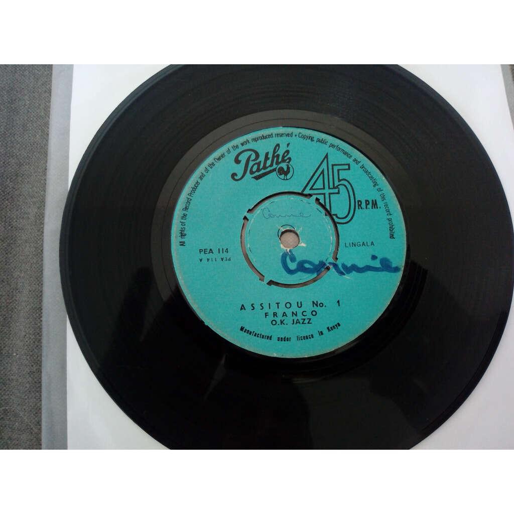 Franco O.K. Jazz Assitou No. 1 / Assitou No.2