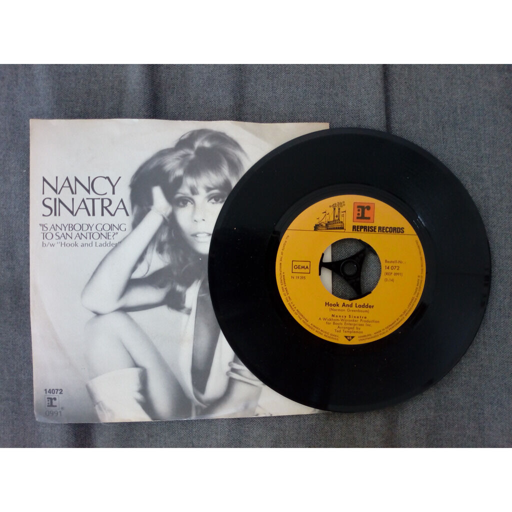 Nancy Sinatra Is Anybody Going To San Antone? / Hook And Ladder