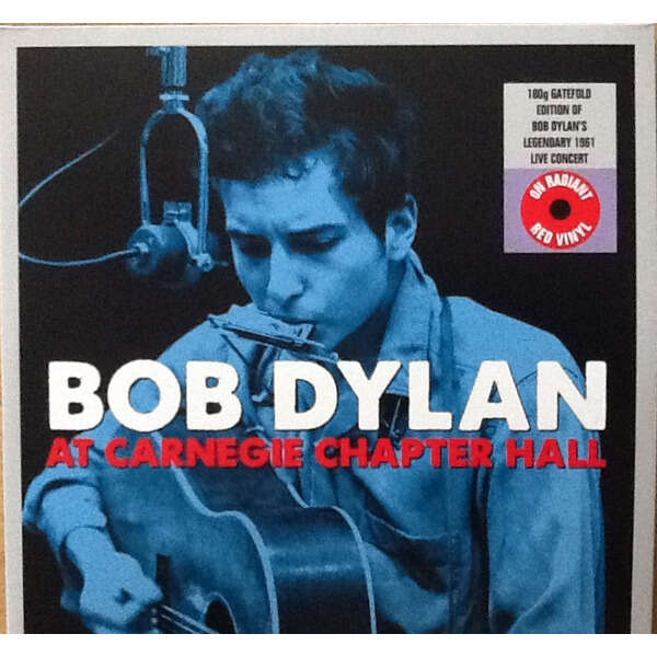 BOB DYLAN Carnegie Chapter Hall