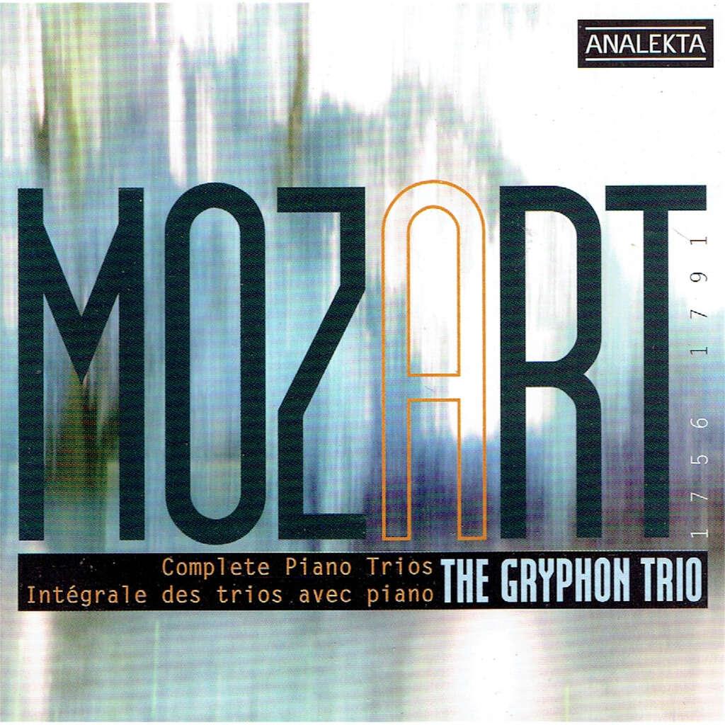the gryphon trio mozart - complete piano trio