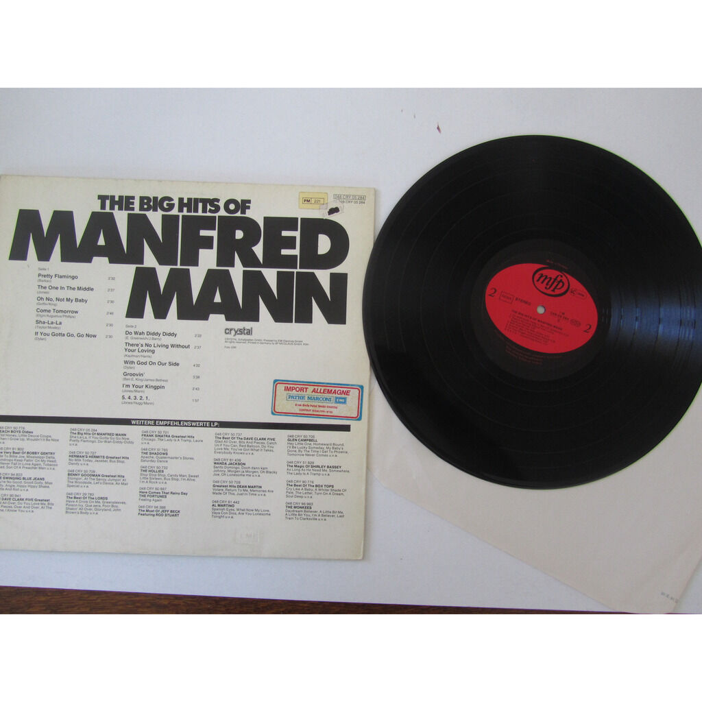 manfred mann the big hits of