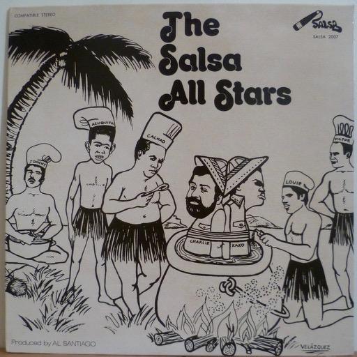 THE SALSA ALL STARS S/T - Descarga de cueros y vientos