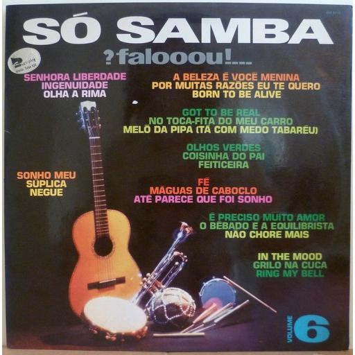 ED LINCOLN & Tapecar orchestra So samba faloooou vol. 6