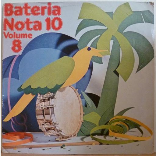 BATERIA NOTA 10 Volume 8