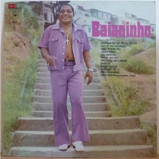 BAIANINHO S/T - Historia de um preto velho