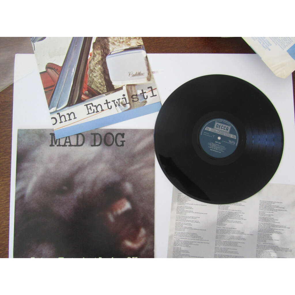john entwistle's ox mad dog