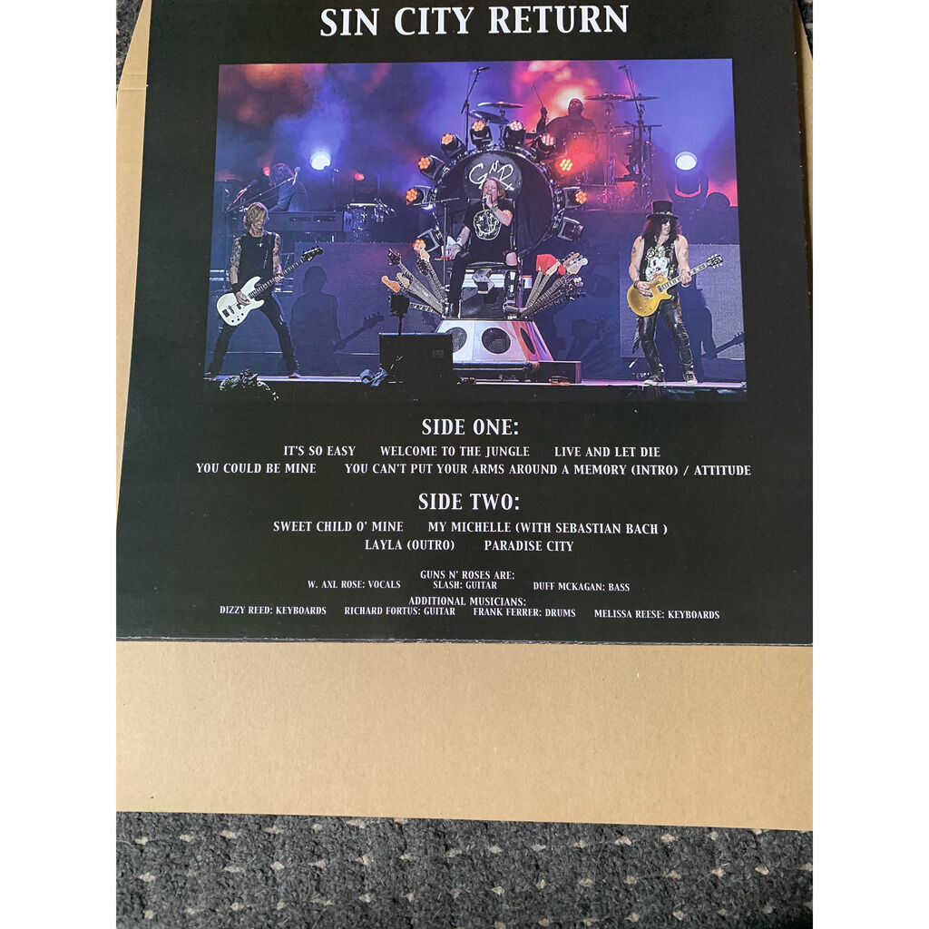 guns n' roses sin city return