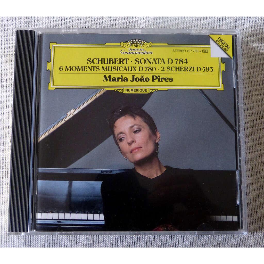 Franz Schubert / Maria Joao Pires 6 moments musicaux D780 / 2 Scherzi D593