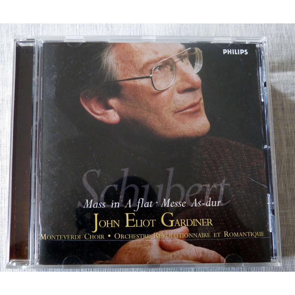 Franz Schubert / John Eliot Gardiner messe en la bémol majeur
