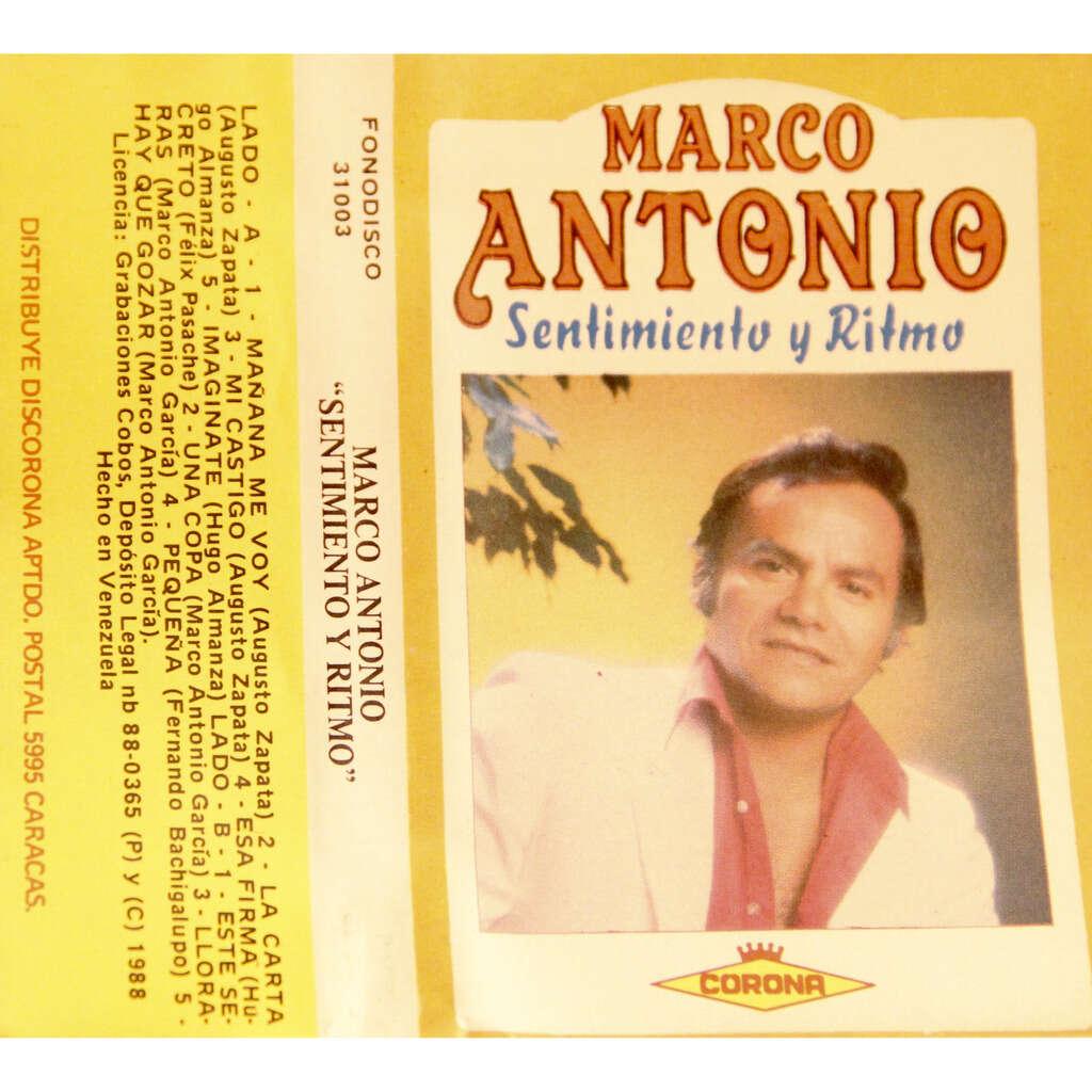Marco Antonio Sentimiento Y Ritmo