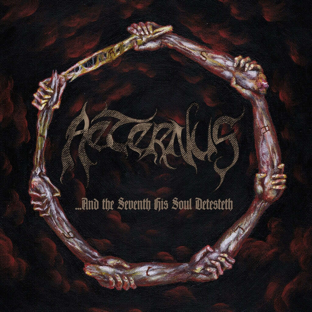 AETERNUS And the Seventh His Soul Detesteth. Black Vinyl