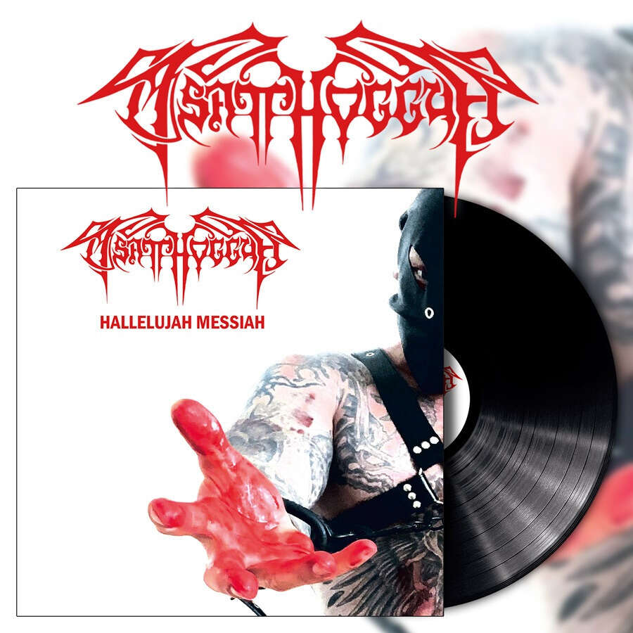 TSATTHOGGUA Hallelujah Messiah. Black Vinyl