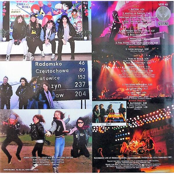 Metallica Live In Gothenburg 1987 (Frölundaborg Gothenburg Sweden 13.02.1987 etc.)