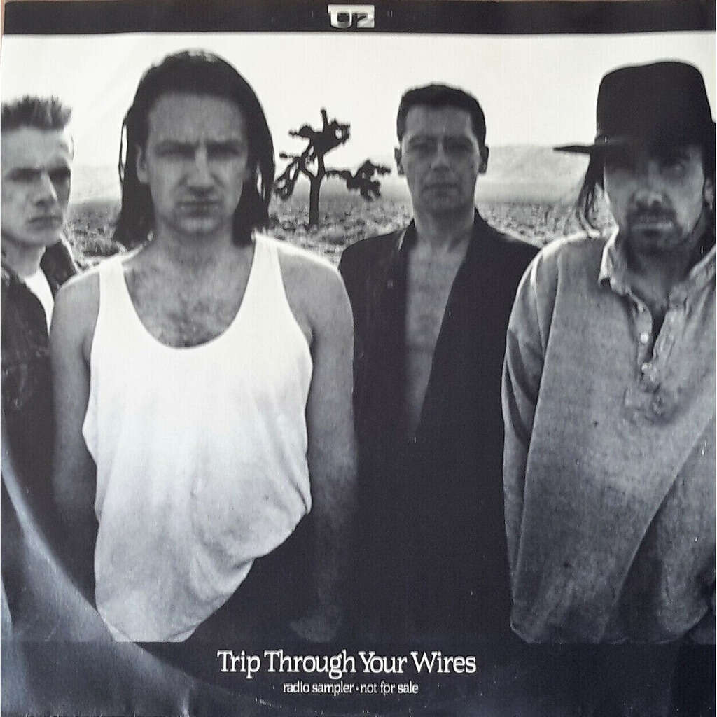 u2 Trip Through Your Wires (Australia 1987 Ltd 4-trk promo-only 12EP sampler absolutely unique ps)