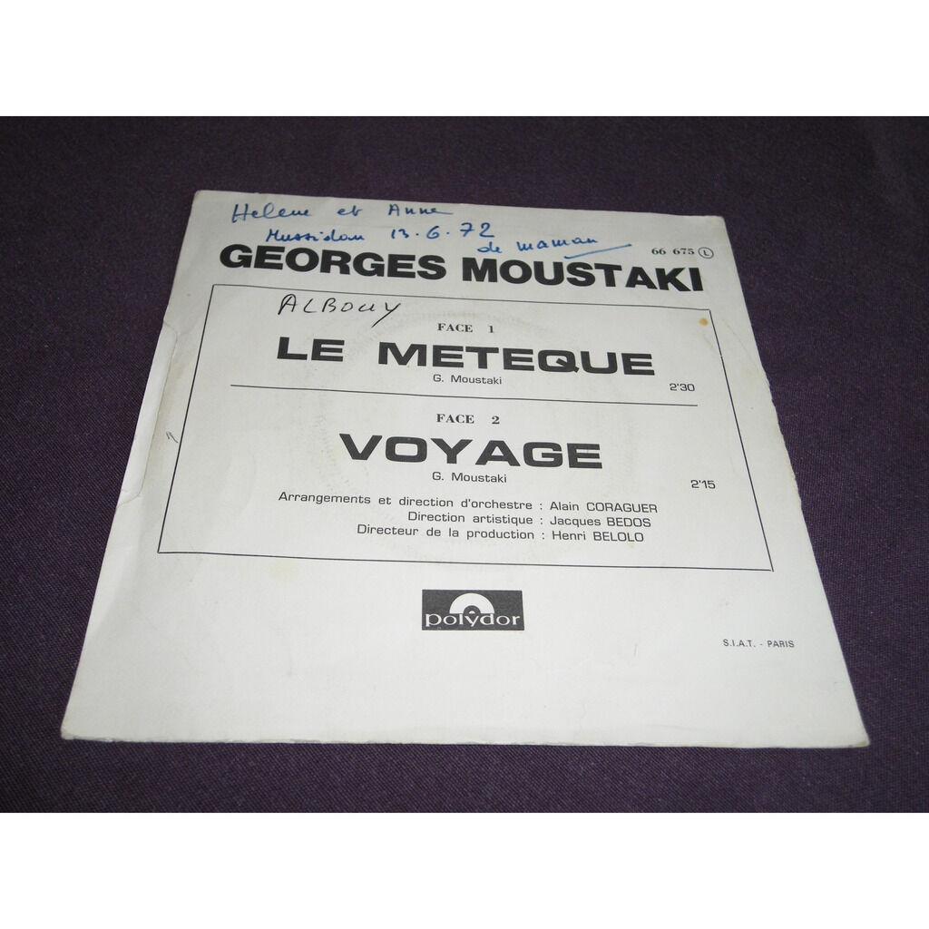 georges moustaki Le Métèque / Voyage
