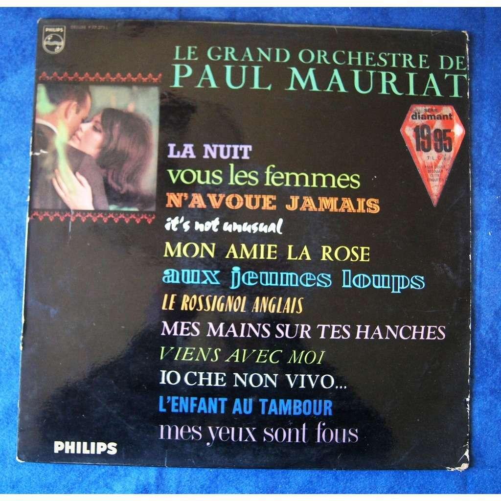 Paul MAURIAT LA NUIT