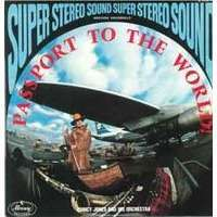 quincy jones & his orchestra passport to the world ! (mint 60's press)