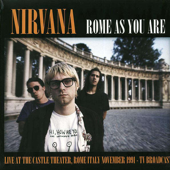 Nirvana Rome As You Are Ltd Vinyl LP