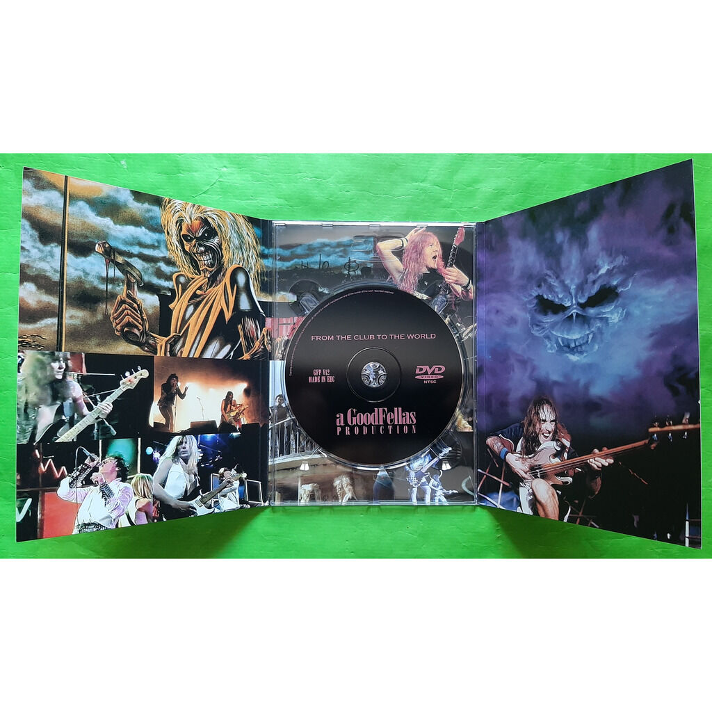 IRON MAIDEN FROM THE CLUB TO THE WORLD-(Limited édition)(DVD)(digipack)(Original)(Italie)