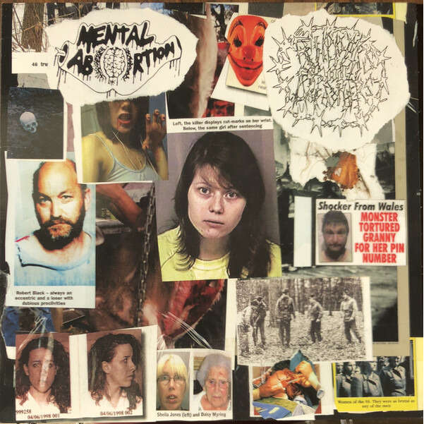 Mental Abortion/Rippers And Diddlers Split