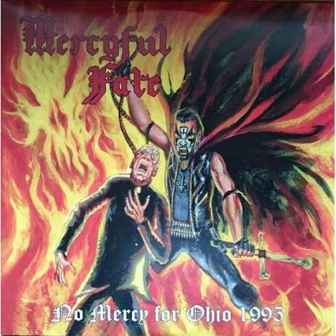 Mercyful Fate No Mercy For Ohio 1995 (Green Blue Swirl Wax)
