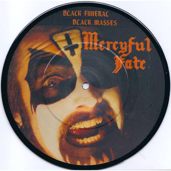 Mercyful Fate Black Masses / Black Funeral (PIC. DISC)