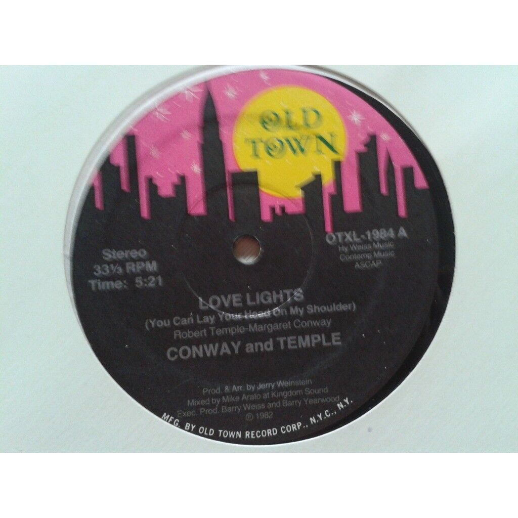 Conway and Temple* - Love Lights (You Can Lay You Conway and Temple* - Love Lights (You Can Lay Your Head On My