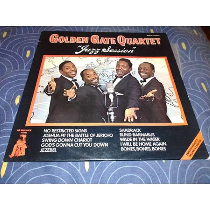 golden gate quartet jazz session
