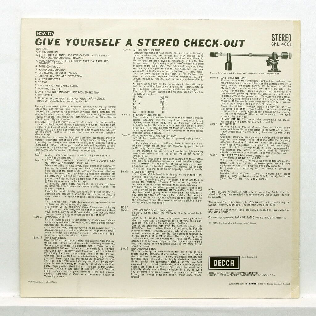 How to Give yourself a stereo check-out How to Give yourself a stereo check-out