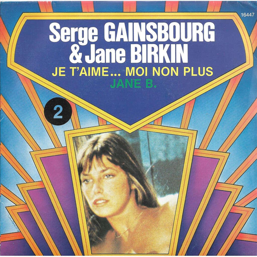 Gainsbourg Serge & Birkin Jane Je t'aime… Moi non plus