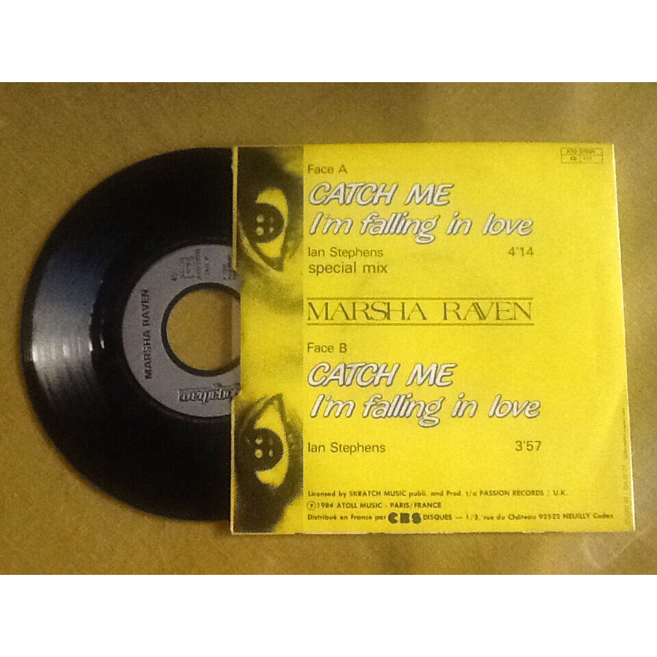 marsha raven Catch me I'm falling in love ( special mix) + autre version