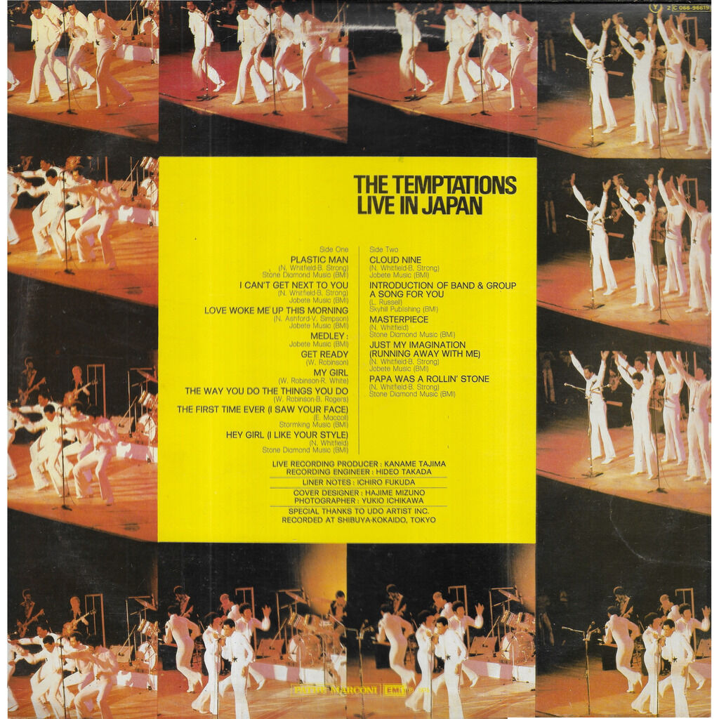 The TEMPTATIONS Live in Japan