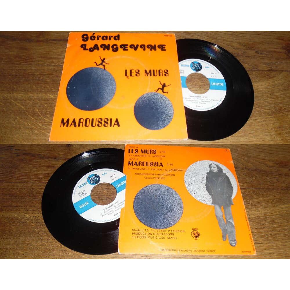 Gerard Langevine Les Murs / Maroussia