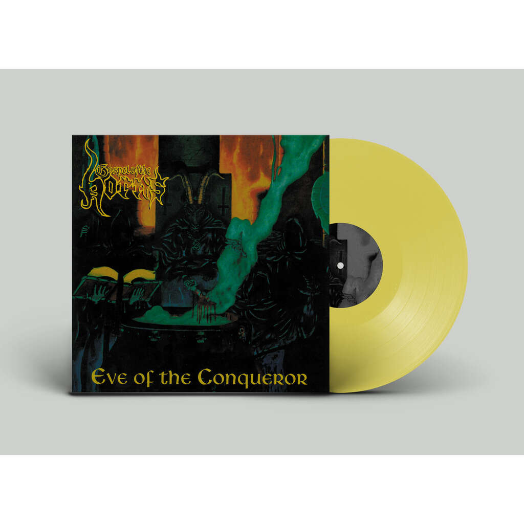 GOSPEL OF THE HORNS Eve of the Conqueror. Yellow Vinyl