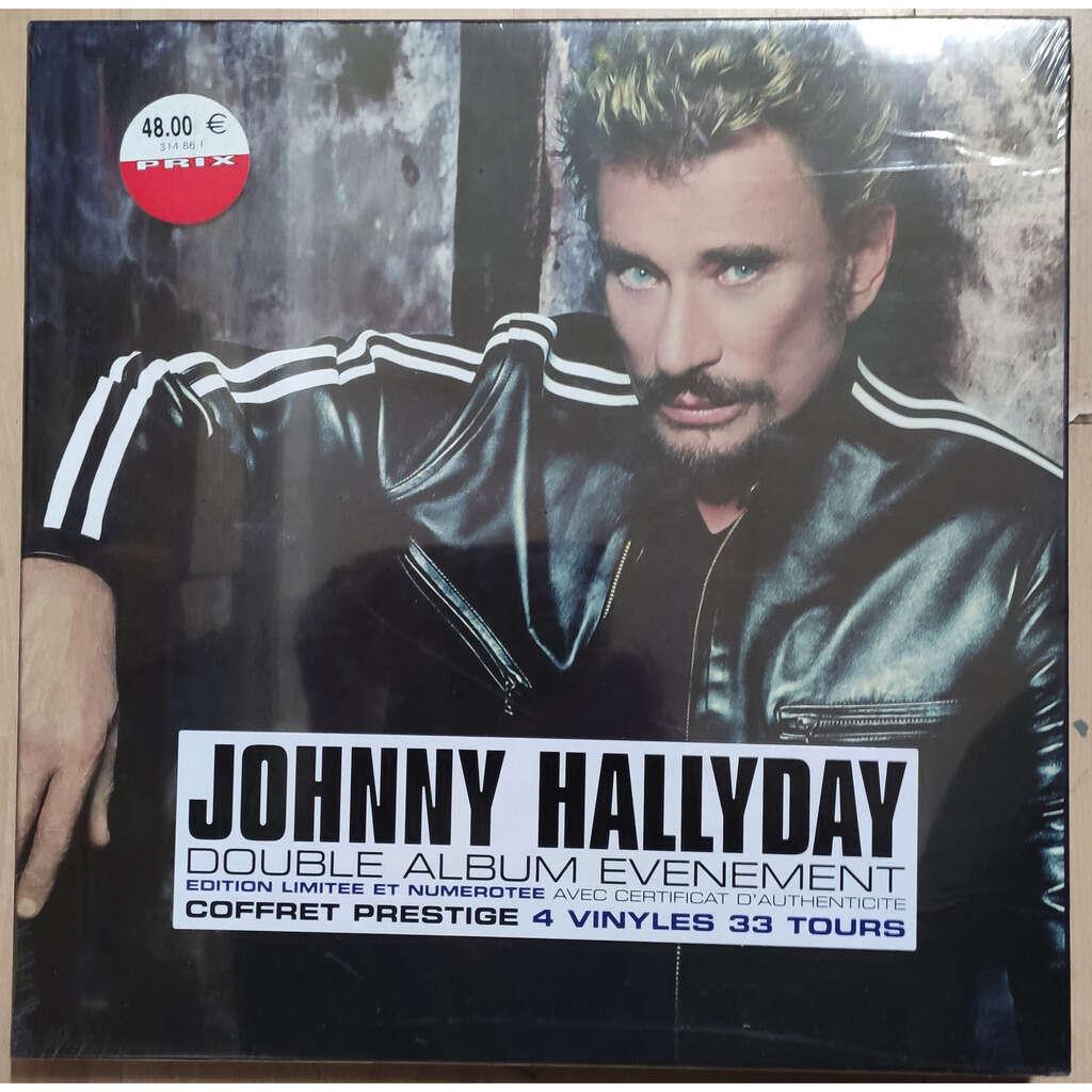 JOHNNY HALLYDAY A LA VIE, A LA MORT