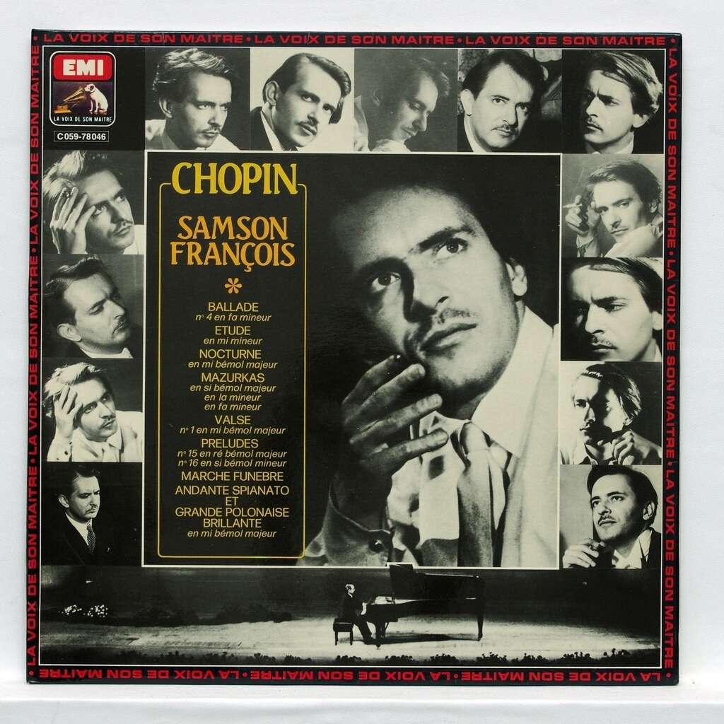 samson francois Chopin : Ballade in F minor / Etude in E minor / Nocturne in E flat major / Mazurkas