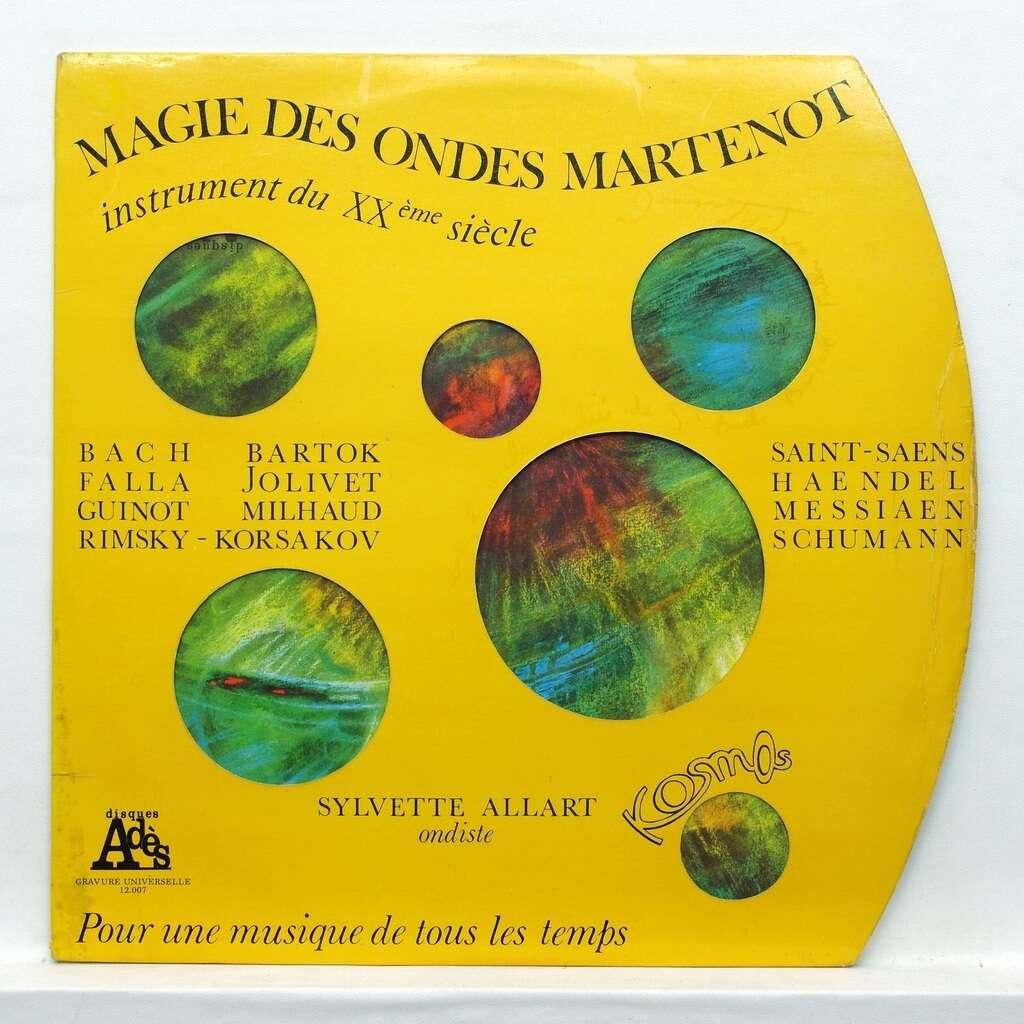 Sylvette Allart / Théodore Paraschivesko Magie des ondes martenots