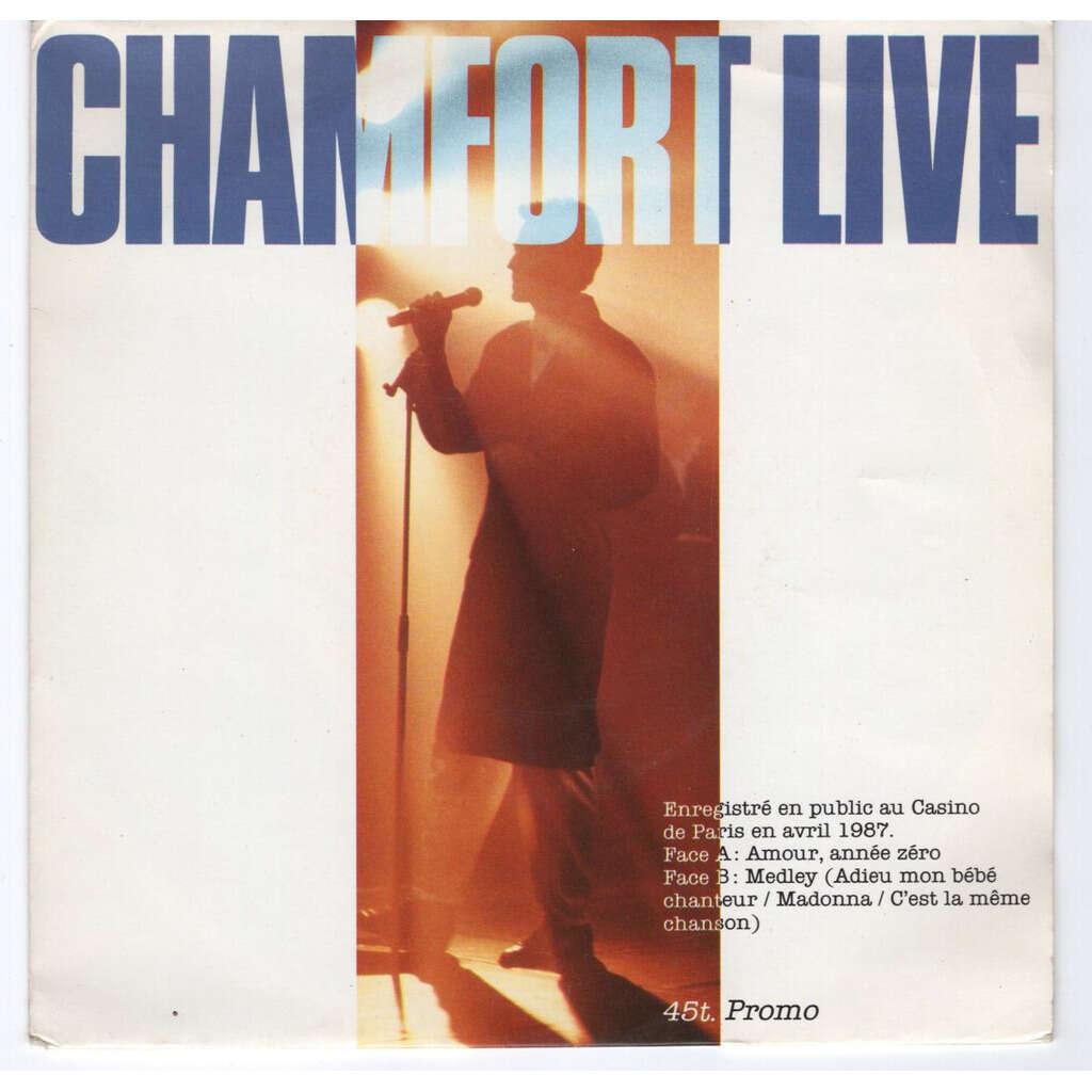 Alain Chamfort Amour, année zéro (live) - Promo