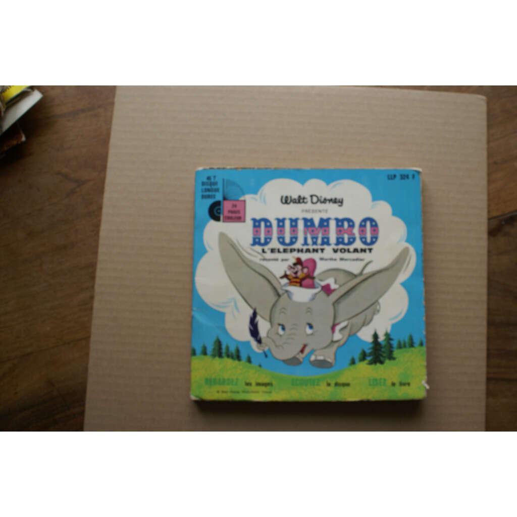 MERCADIER Marthe Dumbo l'elephant volant livre disque