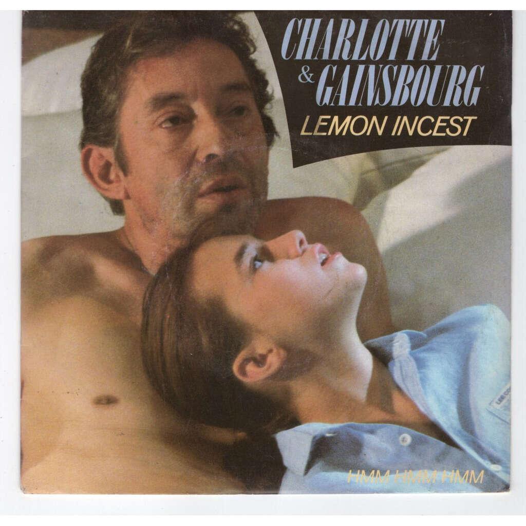 Serge Gainsbourg & Charlotte Lemon incest