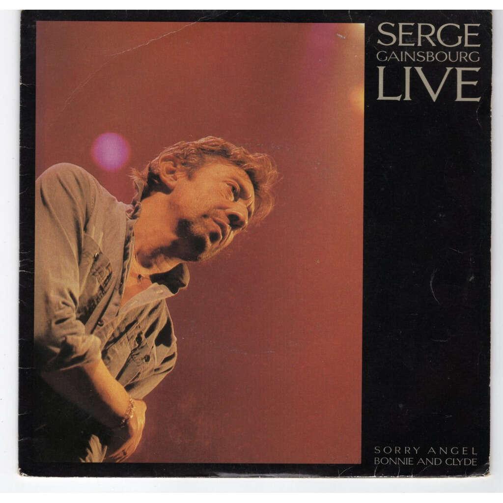 Serge Gainsbourg Sorry angel - live
